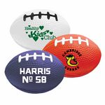 Foam Stress Reliever Football Colors
