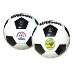 Custom Wilson Premium Synthetic Leather Soccer Ball (Size 5)