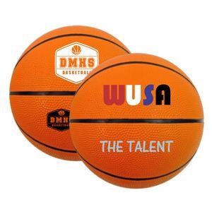 5 Mini Rubber Basketball