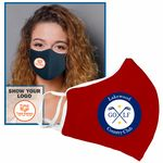 Anti-Microbial Woven Fabric Face Mask-Adult
