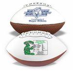 Custom Mini Synthetic Leather Signature Football