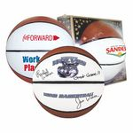 Custom Full Size Synthetic Leather Signature Basketball