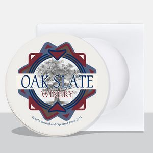 Absorbent Stone Circular Coasters (Single Pack)