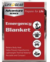 Emergency Blanket Reflective Thermal- Ground Cover