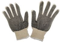 Tough Skin Cotton PVC Dots Work Gloves
