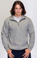 Adult Heavyweight 1/4 Zip Sweat Jacket