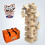 Custom Jenga Giant JS7 Hardwood Game 5'+ #1 Seller