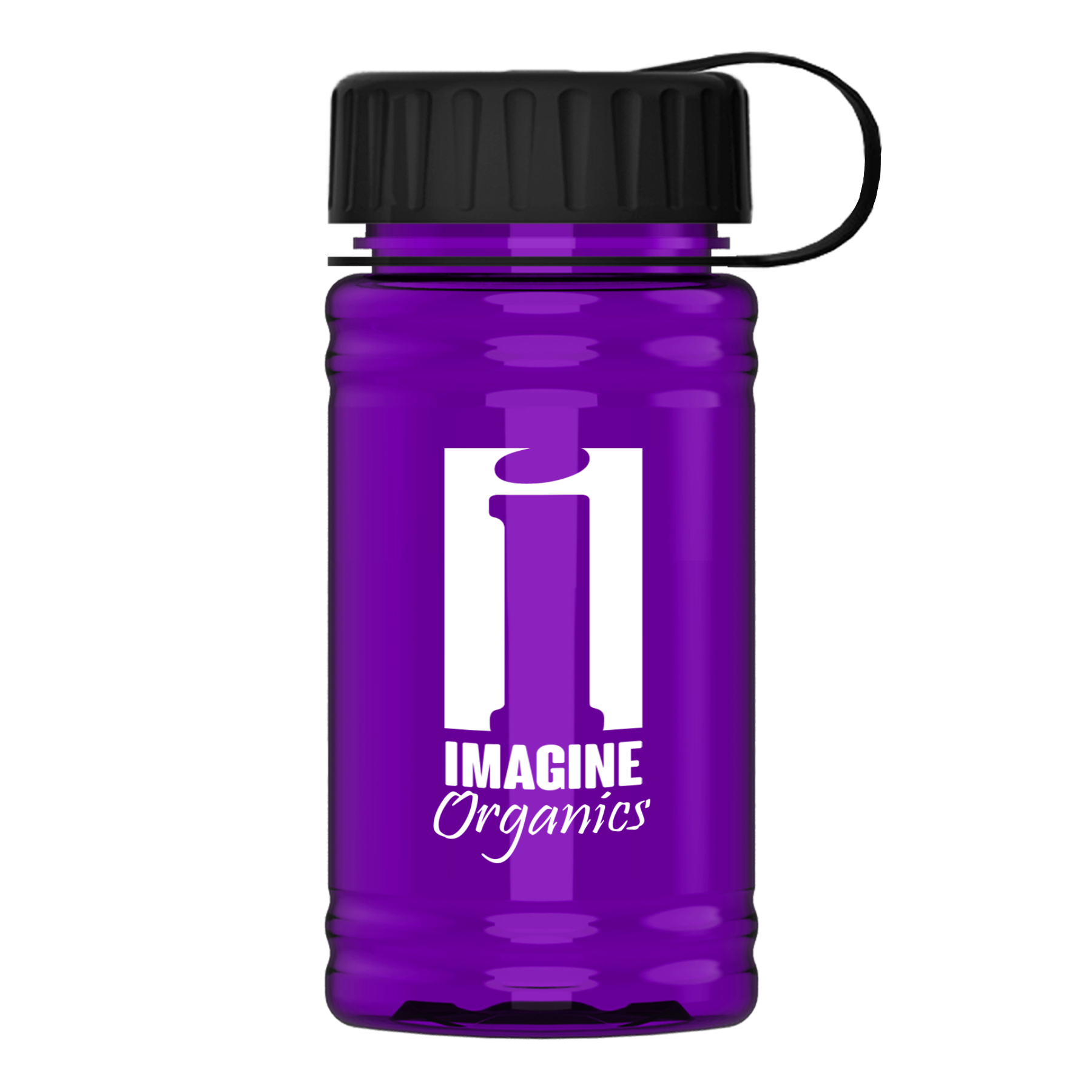 UpCycle - Mini 16 oz. rPet Sports Bottle With Tethered Lid