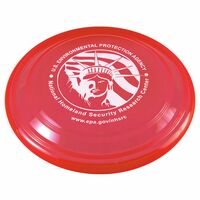 "9"" Transparent Flyer - Flying Disc"