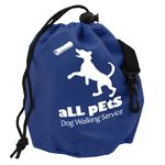 Custom Pet Treat Drawstring Bag
