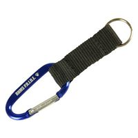60mm Carabiner with Key Strap