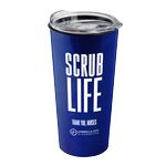 Custom 18 oz. Explorer Tumbler with Clear Slide lid