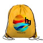 Custom Digital Drawstring Backpack - 15
