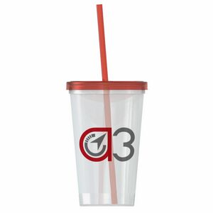 aa29e21583c 22 oz. Straw-n-Lid Single-wall Tumbler - SC22XLS - IdeaStage Promotional  Products