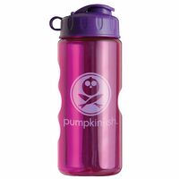 Mini Mountain 22 oz. Tritan™ Transparent Sports Bottle - Flip Top Lid