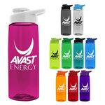 Custom 26 oz Tritan Flair Sports Bottle - Drink Thru Lid