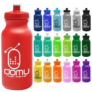 Custom Imprinted Orange Color Sport Bottles