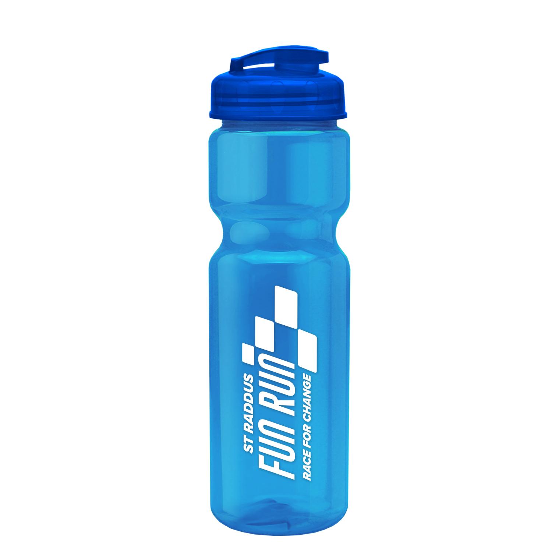 Champion - 28 oz. Trans. Bottle - Flip Lid