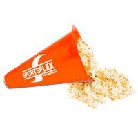 Megaphone with Popcorn Cap