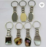 Metal watch shaped keychains