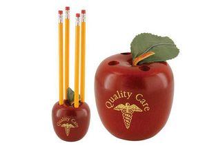 Custom Printed Apple Shaped Pencil Holders
