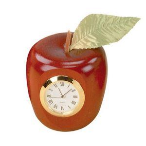 Custom Printed Apple Shaped Clocks