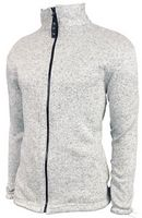 Youth Heather Knitted Fleece Full Zip Jacket