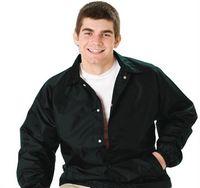 Black Coach Jacket - (S-XL)