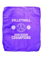 Purple Heavy Weight Shop Towels - (No Imprint)
