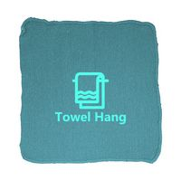 Turquoise Heavy Weight Shop Towels - (No Imprint)