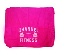 Hot Pink Heavy Weight Shop Towels - (No Imprint)