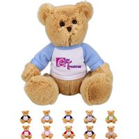 The Curious Brown Bear in Raglan, A Fuzzy Stock Teddy Bear