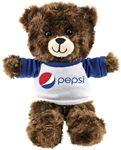 Custom The Floppy Honey Bear in Raglan, A Fuzzy Stock Teddy Bear