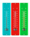 Custom 11.5-inch Metal Thermometers