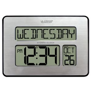 Digital Atomic Old Timer's Clock wit Date