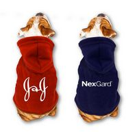All Star Dogs™ Polar Fleece Hooded Dog Jacket