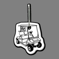 Zippy Clip & Golf Cart Clip Tag (3/4 View)