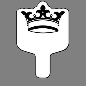 Handheld Fan W/ 3 Point Crown