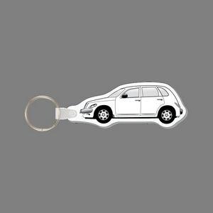 Key Ring & Punch Tag W/ Tab - PT Cruiser Car - PT-21566-R