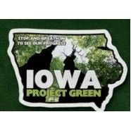 Iowa - Magnet 2.8 Sq. In. & 15 MM Thick