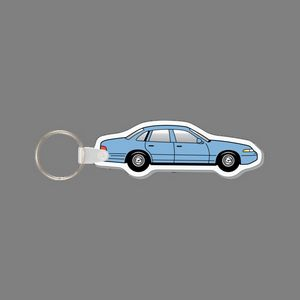 Promotional Product - Key Ring & Punch Tag - Crown Vic Car