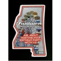 Mississippi - Magnet 2.98 Sq. In. & 15 MM Thick