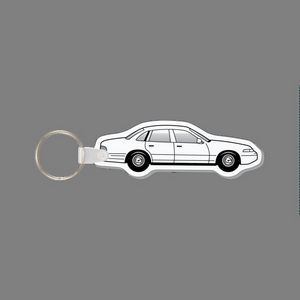Key Ring Ford Crown Vic Car Key Tag