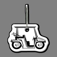 Zippy Clip & Golf Cart Clip Tag (Side View)