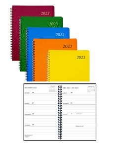 Mid-Size Weekly Planner with Poly Cover