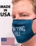Custom Custom Face Mask Full Color Print - MADE IN USA - 2 Layer Antimicrobial Polyester w/ filter