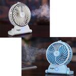 Custom Rechargeable Portable USB Mini Ultrasonic Humidifier Fan