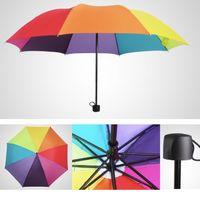Folding Rainbow Umbrella