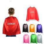 Custom Child Super Hero Cape With Velcro Closure