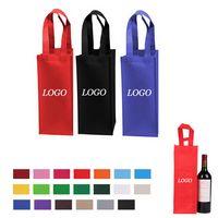 Non Woven Single Wine Tote Bag